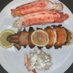 King Crab and Lobster Tail