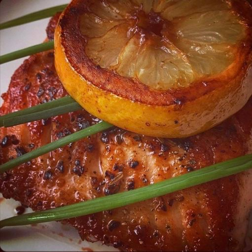 Garlic & Herb Salmon